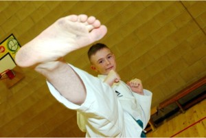 18-01-14 -- Sentinel Sports Awards: Coach Peter Johnson has nominated the Stoke United Taekwonado Association for Senior Team of the Year. PICTURED: Jack Pickin, 14 from Birches Head who has won an array of awards last year, including the British Taekwondo Finals.