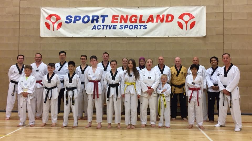 Master Sang Young Park Session Stoke Stoke Uta Taekwondo